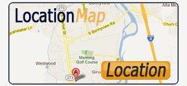 Location Map - Boulder Drive Storage